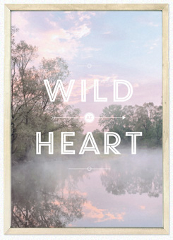 Faunascapes Poster Print Wild at Heart