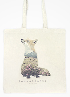 Faunascapes Totebag Fox